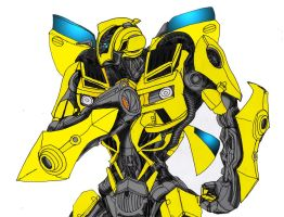 DOTM Bumblebee Colors W.I.P. by ConstantM0tion