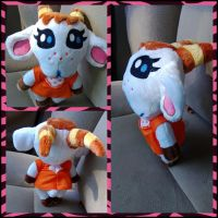 Chevre animal crossing plush by LRK-Creations