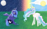 Two Princesses of the Sky by Princessxpup