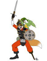 Livestream Commission - Foxydude 9 by AdriOfTheDead