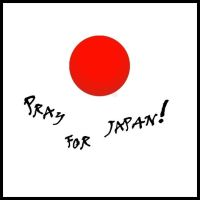 Pray for Japan by ale6rbd