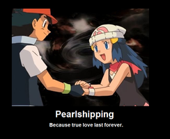 Pearlshipping Poster by InvaderPumpkinQueen