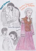 ASoIaF - Sketches by SquigglyButterfly