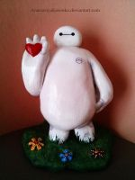 Big Hero 6 - Baymax on Valentine's day by AnastasiyaKosenko