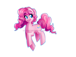 Pinkie Pie by Exunary