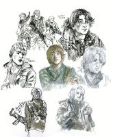 Falling Skies Jimmy Doodles by Pen-scribble