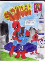 G-spider by CALEBJEZREEL