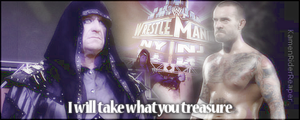CM Punk and the Undertaker: WrestleMania Bound by KamenRiderReaper