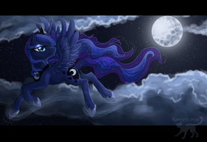 Princess of the Moon by Kocurzyca
