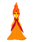 Flame Princess Pixel by XxMariCakesxX