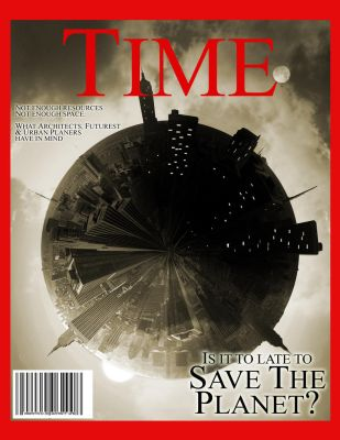Time Magazine the Earth issue by tar-ik78