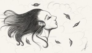 I live with the Wind... by Simati