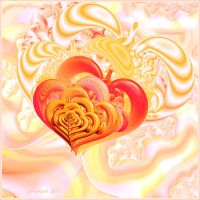Love is pleased the heart by GLO-HE