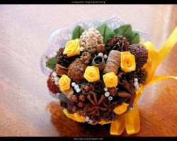 Lovely Yellow Bouquet by ALP-Stock