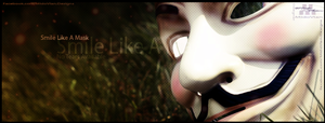 FB - Cover - Smile Like A Mask By MidoVlan by Mido-Vlan