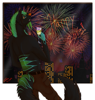 Happy New Year 2013 by WolfsTale