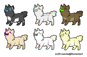 .:Puppy Adopts:. {Open!} by Flovvers
