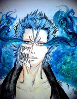 Electric Blue Eyes - Grimmjow Jaeggerjack by AKFid