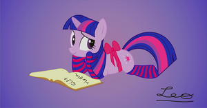 Twilight studing... by leopurofriki