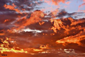 And Fire in The Sky by Vonburgherstein