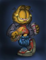 Garfield by Zedgar