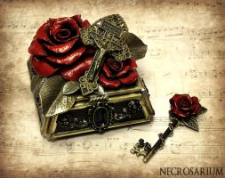 First Rosarium Jewelry Box by Necrosarium