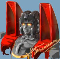 Starscream Portrait by LagunaL8
