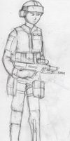 Australian Defence Force riflemen concept by Ravajava