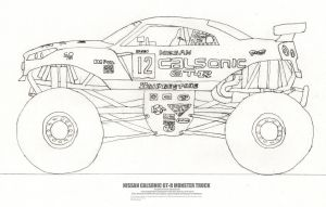 The Nissan GT-R Monster Truck by Jim-Prower