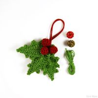 Christmas decoration-Holly by SuniMam