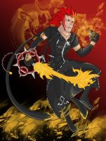 KH3DSPOILERS: An Axel By Any Other Name Colour by Shyrstyne