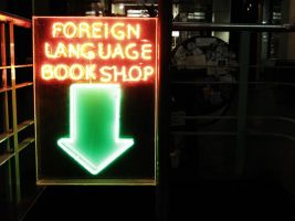 Foreign book shop by RezaUtama