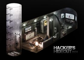 Hacker's Hideout by Hazzard65