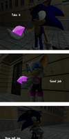 A stupid sonic comic by migueruchan