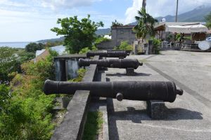 Cannons battery of Saint-Pierre by A1Z2E3R