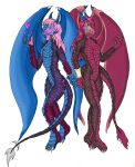 Saphira and Sally color by Isaac-Silver-Dragon