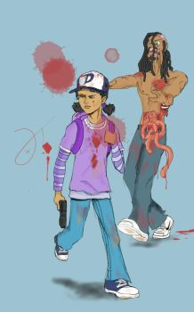 The Walking Dead ( Clementine and Me ) by He11eaven
