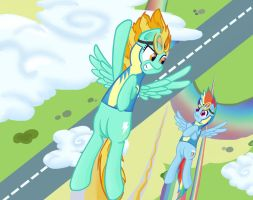fly higher, faster, stronger by Algedor