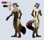 Rainbow Wolverine Character Auction by bkatt500