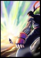 Ryu FInal FIght XD by andy5281
