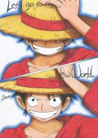 Luffy - Lets go to the New World !! by NeXusShawn
