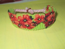 Cherry Blossoms - Macrame by jazykat