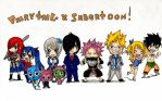 fairy tail chibi ! by love-jerza