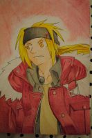 Edward Elric painted by ANAnitendolover