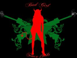 Being a bad girl is a hard job by run-it-bam14
