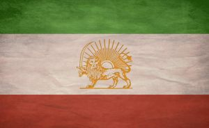 "Iran Grunge Flag ""Lion-Sun"" by kajire"