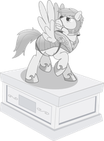 mlp statue by matty4z