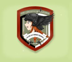 Ghost of Razgriz Emblem by Skunk-Works