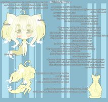 ClosedSpecies: BubbleBuns - Ref. Sheet by Mofu-Chan