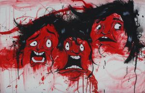 Faces of Fear by JoeDeD